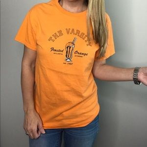 The Varsity Restaurant Frosted Orange graphic tee